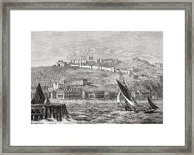 Dover, Kent, South East England, Seen Framed Print by Vintage Design Pics