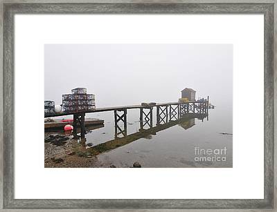 Dover Point Framed Print by Catherine Reusch Daley