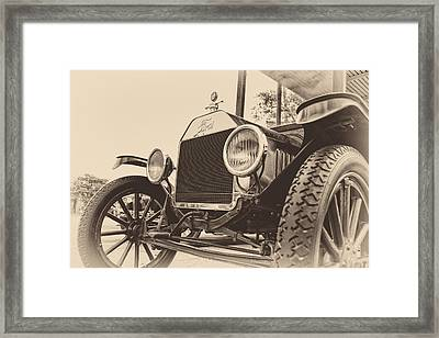 Down A Dusty Road Framed Print by Caitlyn  Grasso