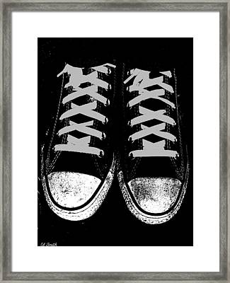 Down And Dirty Framed Print