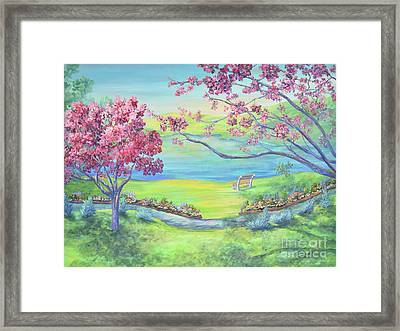 Down By The Bay Framed Print