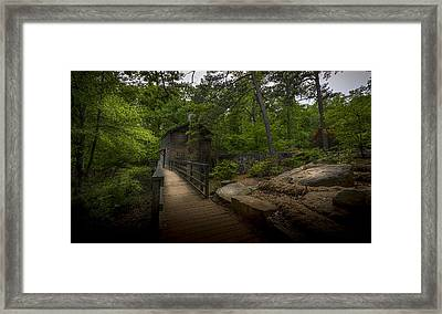 Down By The Mill Framed Print