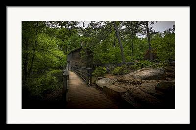 Mill Stone Framed Prints