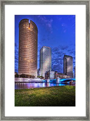 Down By The River Framed Print by Marvin Spates