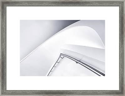 Down Curve Framed Print by Jeroen Van De Wiel