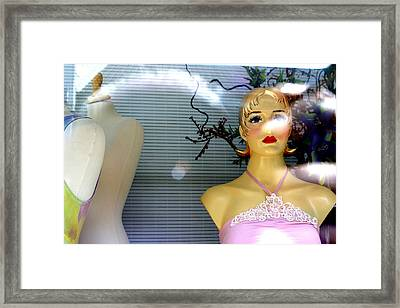 Down For You Framed Print by Jez C Self