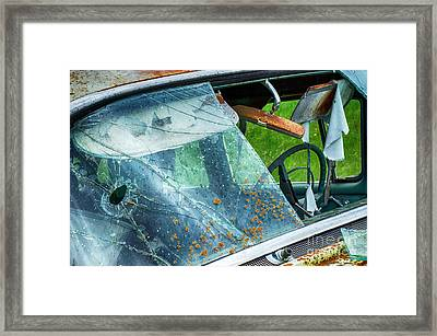 Down In The Dumps 11 Framed Print by Bob Christopher