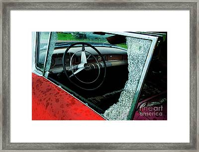 Down In The Dumps 13 Framed Print by Bob Christopher