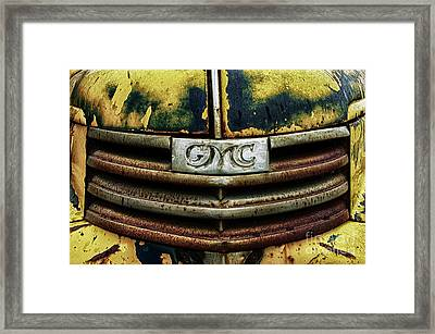 Down In The Dumps 22 Framed Print by Bob Christopher