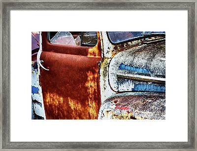 Down In The Dumps 24 Framed Print by Bob Christopher