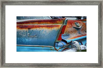 Down In The Dumps 25 Framed Print by Bob Christopher