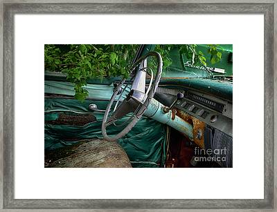 Down In The Dumps 26 Framed Print by Bob Christopher