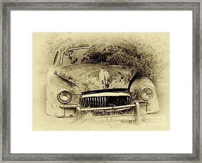 Down In The Dumps 27 Framed Print by Bob Christopher
