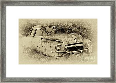 Down In The Dumps 28 Framed Print by Bob Christopher