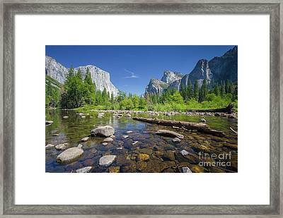 Down In The Valley Framed Print by JR Photography
