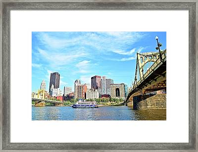 Down Low Looking Up Framed Print