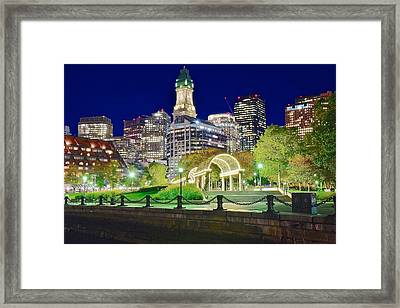 Down Near The Water Framed Print by Frozen in Time Fine Art Photography