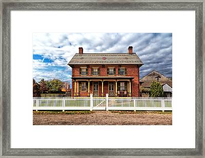 Down On The Farm Framed Print by Susan Rissi Tregoning