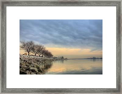Down River Framed Print
