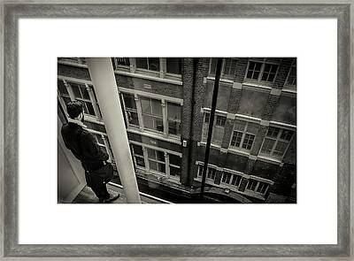 Framed Print featuring the photograph Down by Stewart Marsden