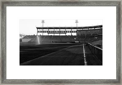 Down The Line Framed Print by Michael Albright