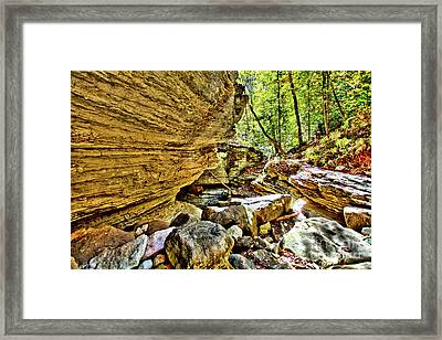Down The River Framed Print by Kevin Kuchler