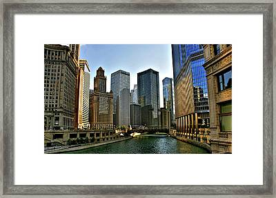 Down The River Framed Print by Sheryl Thomas