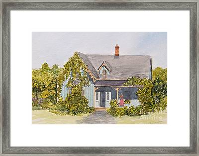 Down The Road.... Framed Print