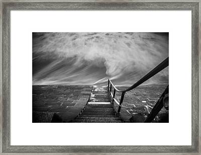 Down The Sea Framed Print by Cl?ment Delarue