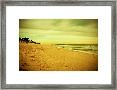 Down The Shore - Jersey Shore Framed Print