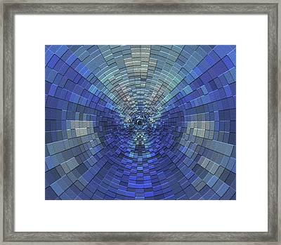Down The Tube Framed Print by Jack Zulli