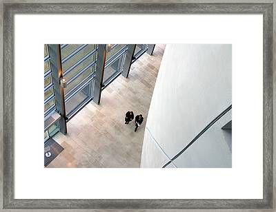 Down There Framed Print by Jez C Self