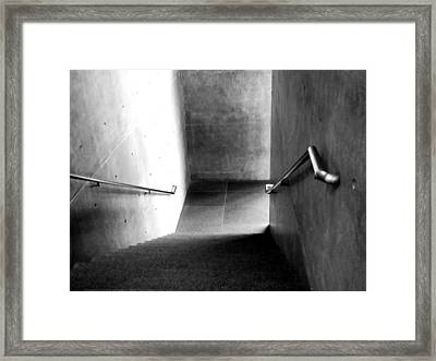 Down There Framed Print by Slade Roberts