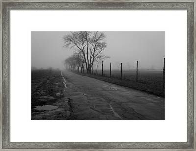 Down To The Marsh Framed Print by Andrew Pacheco
