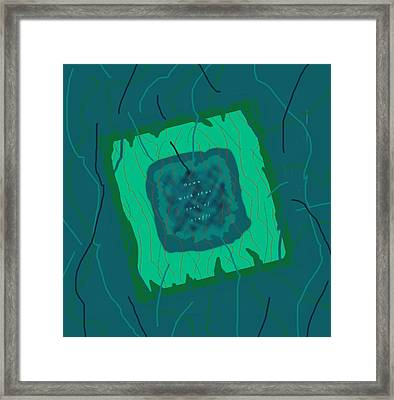 Framed Print featuring the digital art Down With That Sort Of Stuff Word Art 2 by Julia Woodman