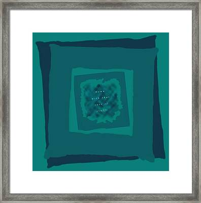 Framed Print featuring the digital art Down With That Sort Of Stuff Word Art by Julia Woodman