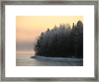 Downeast 8 Framed Print by Cat Encio
