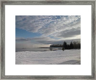 Downeast Maine 2 Framed Print by Cat Encio