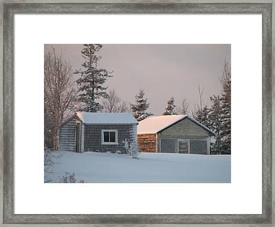 Downeast Maine 3 Framed Print by Cat Encio
