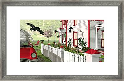 Framed Print featuring the photograph Downeast Morning by Peter J Sucy