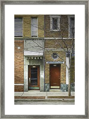 Downer Framed Print