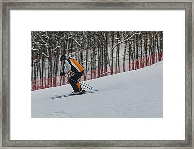Downhill Framed Print