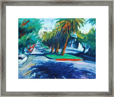 Downhill Framed Print