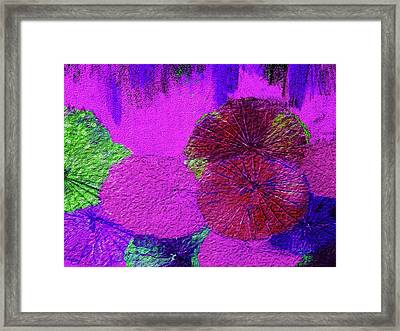Downpour 4 Framed Print by Bruce Iorio