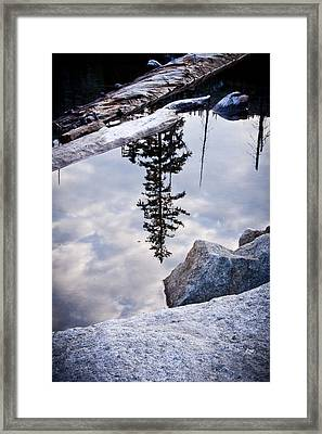 Downside Up Framed Print