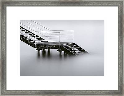 Downstairs Framed Print by Inigo Barandiaran