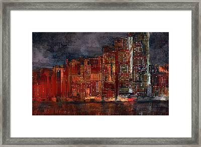 Downtown Framed Print by Alex Galkin