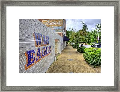 Downtown Auburn Framed Print by JC Findley