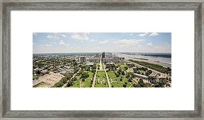 Downtown Baton Rouge Framed Print