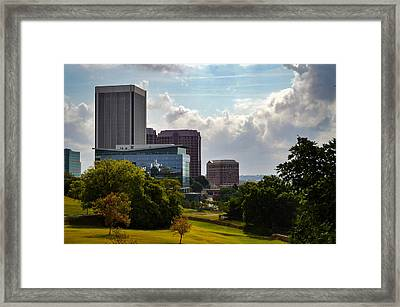 Downtown Beauty Framed Print